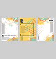abstract web banners vector image