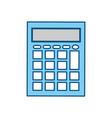 calculator math device vector image