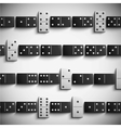 Domino background vector image vector image