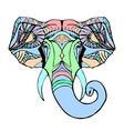 Head Ganesha vector image