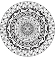 Mandala ornamental vector image