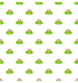 Merry go round pattern cartoon style vector image