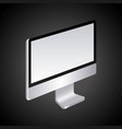 monitor computer technology device screen vector image vector image