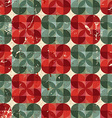 Old style tiles seamless background pattern design vector image vector image