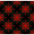 Pattern on a red background vector image