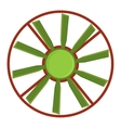 Propeller fan vector image vector image