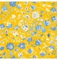 summer doodle seamless pattern Floral vector image vector image