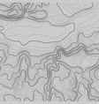topographic map background with space for copy vector image vector image
