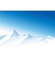 Winter mountains vector | Price: 1 Credit (USD $1)