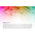 abstract colorful background with spiral vector image vector image