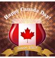Canada Day goblet vs vector image vector image