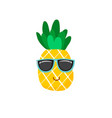 cute pineapple icon symbol vector image vector image