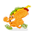 Fast hot dog