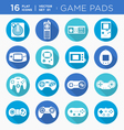 game controllers vector image vector image