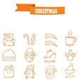 Holiday and Christmas collection stock vector image vector image