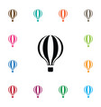 isolated fly icon airship element can be vector image vector image