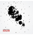 Large ink blot vector image vector image