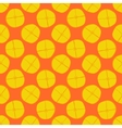 lemon seamless pattern - fruit texture vector image vector image