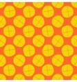 lemon seamless pattern - fruit texture vector image