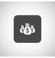 money bags edit layers icon funds buy vector image vector image