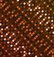 Orange digital texture vector image vector image