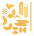 Pasta vector image vector image