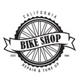 vintage and modern bike logo badge and label vector image vector image