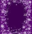 snowflake splash vector image