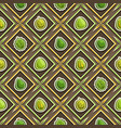 fruit seamless pattern vector image vector image