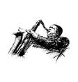 jazzman vector image vector image