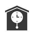 pendulum wall clock pixel perfect icon vector image vector image