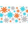 quarantine stop coronavirus epidemic design vector image vector image