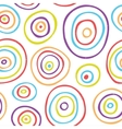 Retro kids pattern vector image vector image