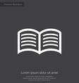 book premium icon vector image
