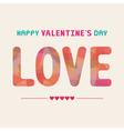 Romantic card63 vector image vector image