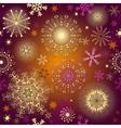 Seamless purple gradient christmas pattern vector image vector image