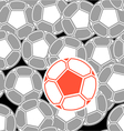 Soccer Ball Background vector image vector image
