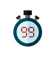 stopwatch timer sport vector image