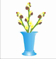 verba v vaze vector image