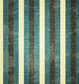vintage blue line seamess pattern vector image vector image