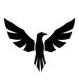 Hawk tattoo vector image