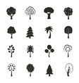 Abstract ecology growth icons set vector image vector image
