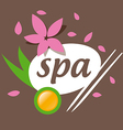 Abstract logo accessories for spa salon vector image vector image