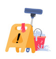 cleaning service concept creative modern web vector image