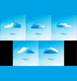Cloud abstract background
