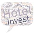 CONDOTELS CONDO HOTELS New Hotel Phenomenon Set to vector image vector image
