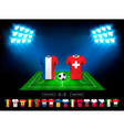 European football championship 2016 in France vector image vector image