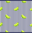 lime seamless striped pattern summer citrus fruit vector image