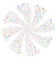 narcotic drugs fireworks swirl rotation vector image vector image