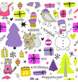 seamless pattern for your design vector image vector image